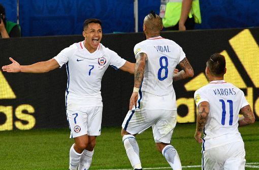 Vidal und Vargas schießen Chile zum Sieg über Kamerun