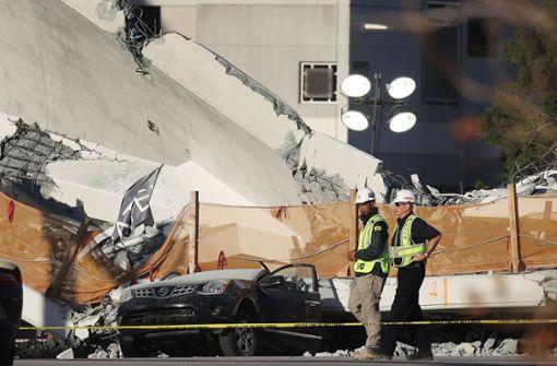 Mehrere Tote bei Brückeneinsturz in Miami
