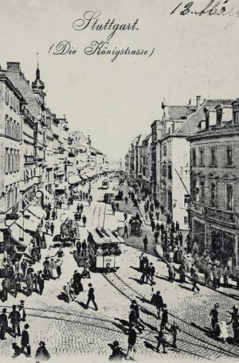 Im Jahr 1902 wurde diese Postkarte  beschrieben, Foto: Sammlung Wibke Wieczorek