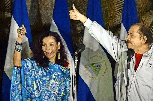 Die Ortega-Familie regiert das Land
