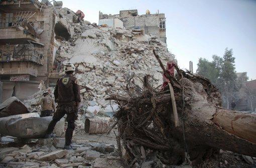 Elfstündige Waffenruhe für Aleppo beginnt