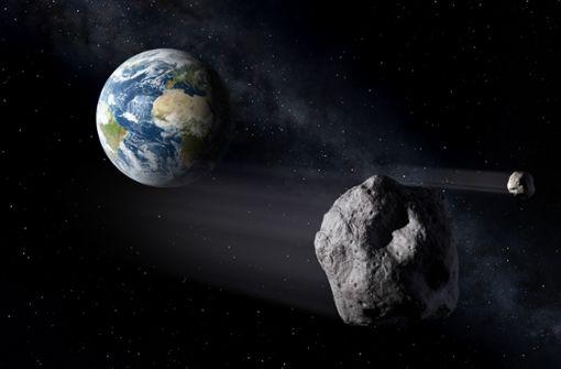Asteroid fliegt nah an der Erde vorbei