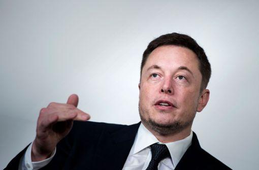 Elon Musk sorgt für große Aufregung an der Börse