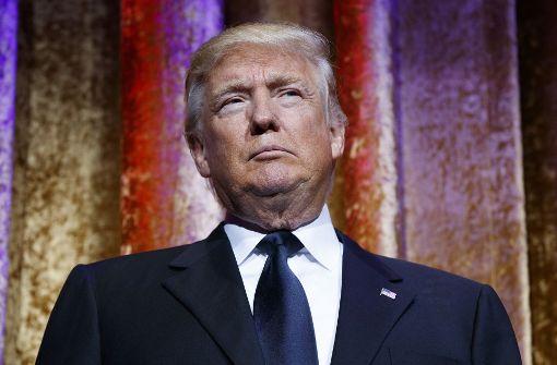 Trump startet mit Turbulenzen