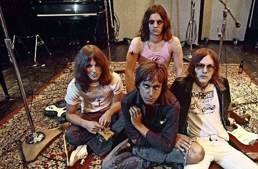The Stooges in ihrer klassischen Besetzung: Dave Alexander (li.), Scott Asheton (hinten), Iggy Pop und Ron Asheton (re.) Foto: Studiocanal