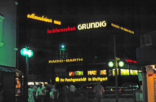 Frher Zierten Sie Die Fassade Von Radio Barth Foto Wolfgang Schnig Stuttgart