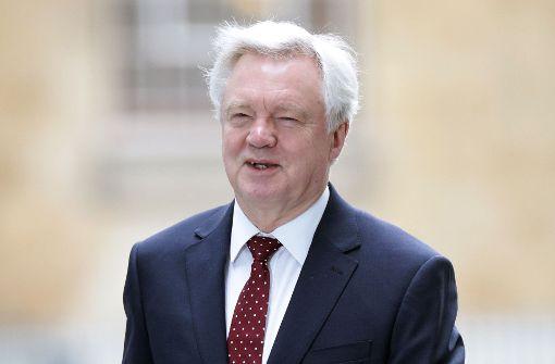 Minister: Brexit-Kurs wird nicht geändert