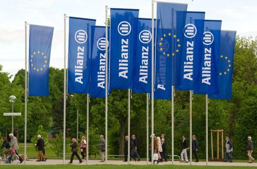 Allianz Deutschland macht weniger Gewinn