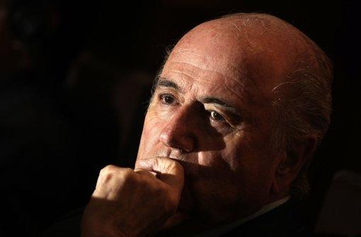 Und wieder fällt der Name Blatter