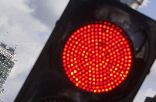 12 000 Euro Schaden  wegen roter Ampel