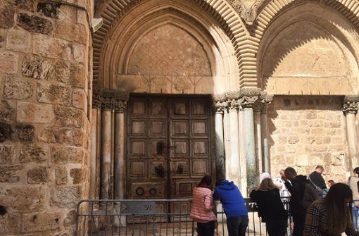 Grabeskirche aus Protest unbefristet geschlossen