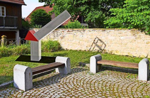 Zwangsarbeiter-Denkmal    beim Alten Rathaus