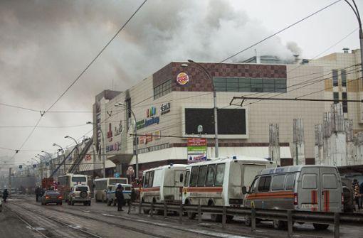 41 Kinder sterben in brennendem Einkaufszentrum