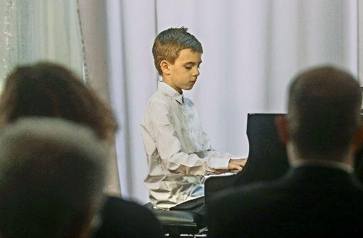 Junge  Instrumentalisten beeindrucken  Zuhörer bei Preisträgerkonzert