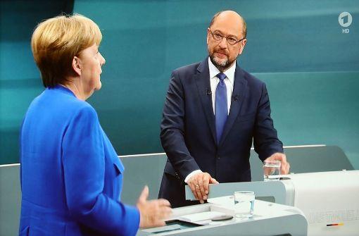 TV-Duell vor Bundestagswahl: Schulz will Stopp der EU ...