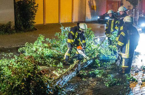 Heftige Gewitter treffen Westen und Süden Deutschlands
