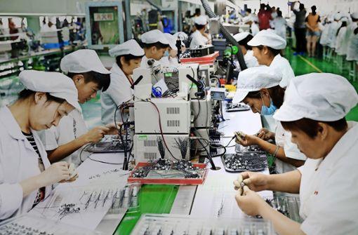 Chinas Wirtschaft hat Schnupfen