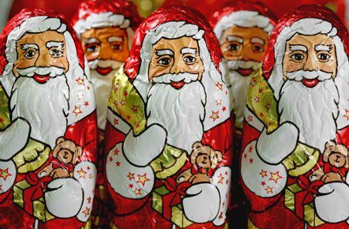 Deutsche Schoko-Weihnachtsmänner für Australien