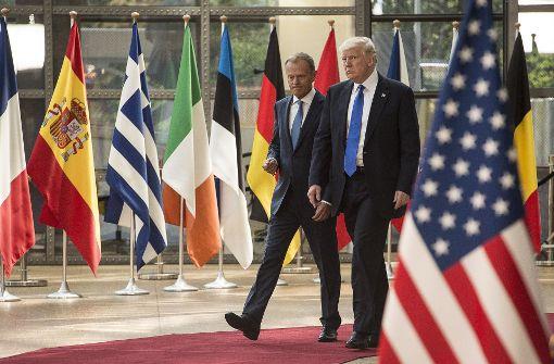 Trump und Tusk bei Russland-Politik weiter uneins