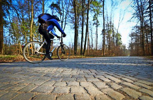 Radschnellweg auf historischem Pflaster