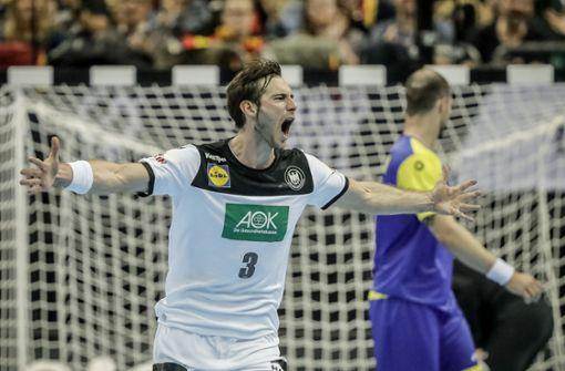 Vorne glänzte Uwe Gensheimer im Team der deutschen Handballer. Foto: dpa