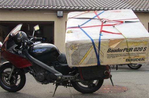 Von polizei verfolgt stuttgarter transportiert mega for Depot balingen
