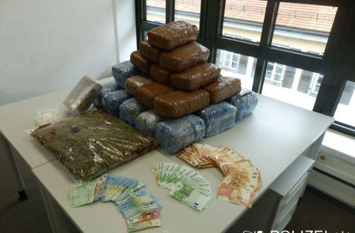 Polizei beschlagnahmt 32 Kilo Marihuana