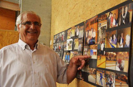 Domenico de Palma, Vorsitzender des Vereins Arces hat keine Tränen nach dem WM-Aus vergossen, aber er sieht nun den italienischen Verband in der Pflicht, mehr für den Fußballnachwuchs zu tun.  Foto: Lisa Wazulin