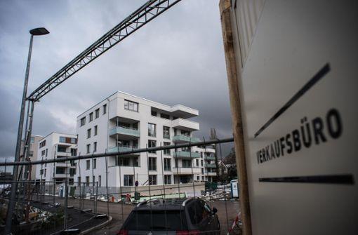 Neue Wohnungen der städtischen SWSG zwischen Killesberg und Pragsattel. Foto: Lichtgut/Max Kovalenko