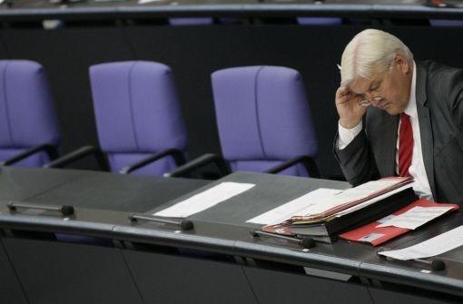 SPD drängt auf Regierungsbank