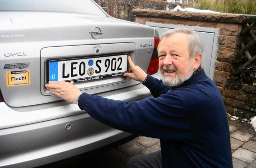 Jedes siebte Fahrzeug im Altkreis ziert ein LEO-Kennzeichen