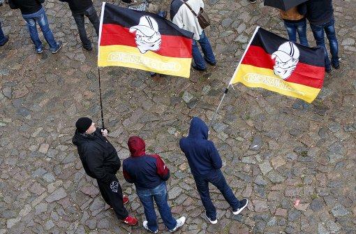 Polizei distanziert sich von guten Wünschen für Pegida-Demonstranten