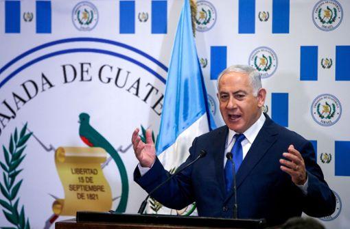 Guatemala folgt dem umstrittenen Schritt der USA