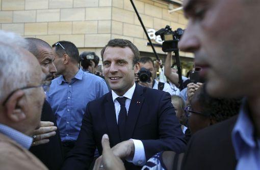 Frankreich: Schafft Macrons Bewegung den Sieg?