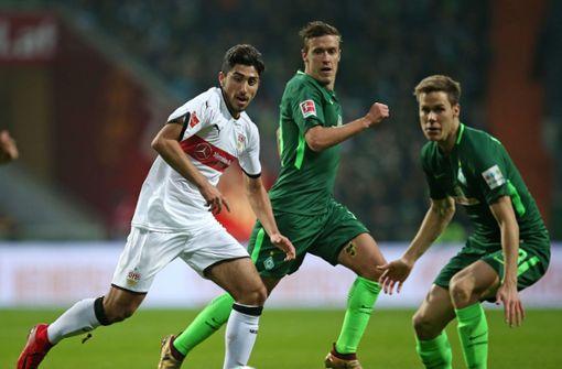 Werder-Torjäger Max Kruse fit für Stuttgart