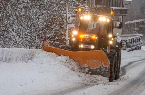 Wetterdienst warnt vor starkem Schneefall und Hochwasser