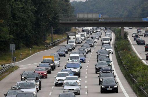 Autobahn 6 wird bei Heidelberg gesperrt