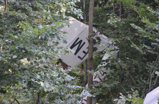 Absturz mit Segelflugzeug überschattet Wochenende