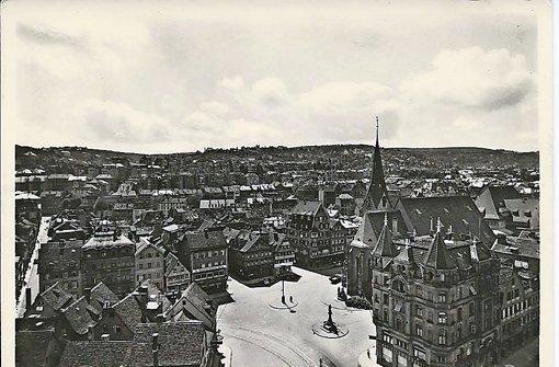 Als der Leonhardsplatz noch ein Platz war: Das Foto ist vor dem Krieg gemacht worden. Foto: Sammlung Wieczorek