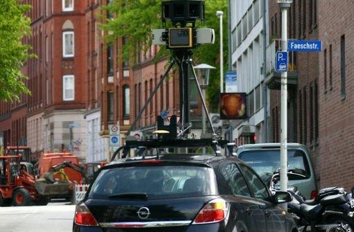 Jahrelang wurden für Google Street View Straßen in ganz Deutschland fotografiert. Foto: dpa