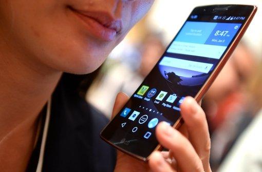 Deutsche im Smartphone-Fieber
