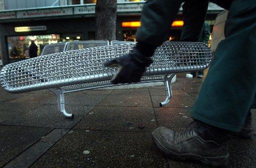 Streit um Sitzbänke an der Königstraße