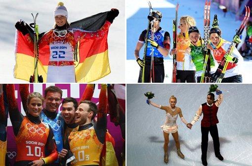 Die Medaillengewinner im Überblick
