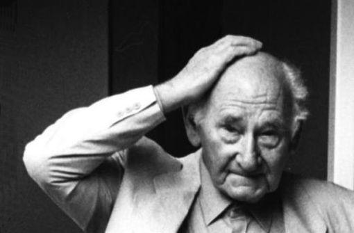 Prägnante Persönlichkeit: Anton Stankowski (1906-1998) Foto: Stankowski-Stiftung