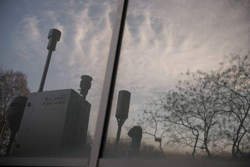 Ordentliche Luft im Stadtbezirk Stuttgart-Nord am Freitag