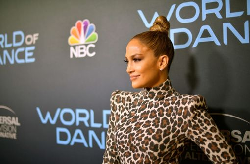 Jennifer Lopez im Leoparden-Look