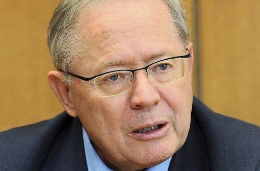 Ulrich Müller bricht sein Schweigen.   Im Interview sucht   der scheidende  Chef des EnBW-Untersuchungsausschusses nach Erklärungen und kritisiert zugleich Grüne und SPD. Foto: dpa