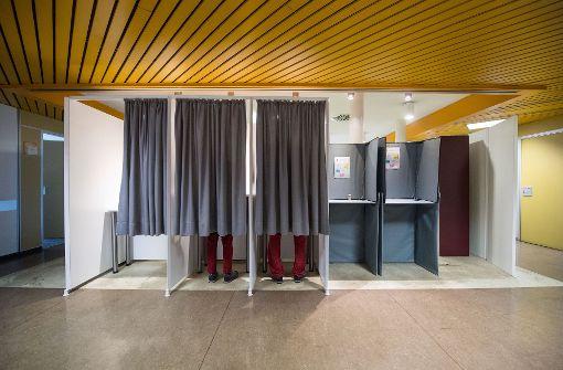 Wahl in Stuttgart ruhig angelaufen