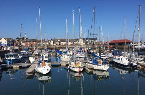 Den Jachthafen von Arbroath gibt es erst seit rund zehn Jahren. Vorher lagen dort die Fischkutter der Hochseefischer.    Foto: Krohn