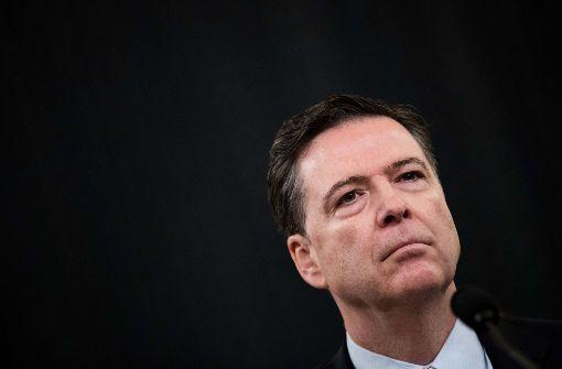 FBI-Chef James Comey sagte am Montag bei einer Befragung im Repräsentantenhaus in Washington, er habe keinerlei Informationen, welche Trumps Anschuldigung unterstützten. Foto: GETTY IMAGES NORTH AMERICA